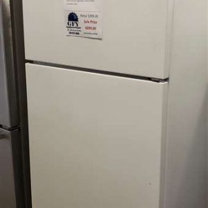20.5 CU FT WHITE FRIDGE