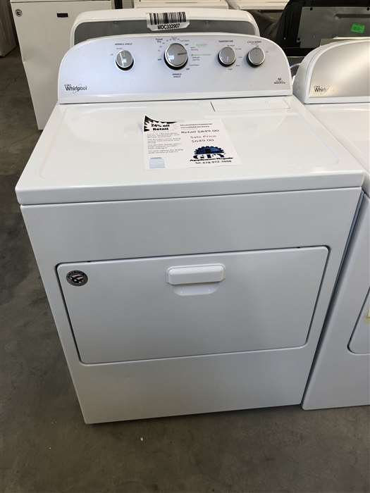 Whirlpool Electric Dryer White Gfy Appliance Repair