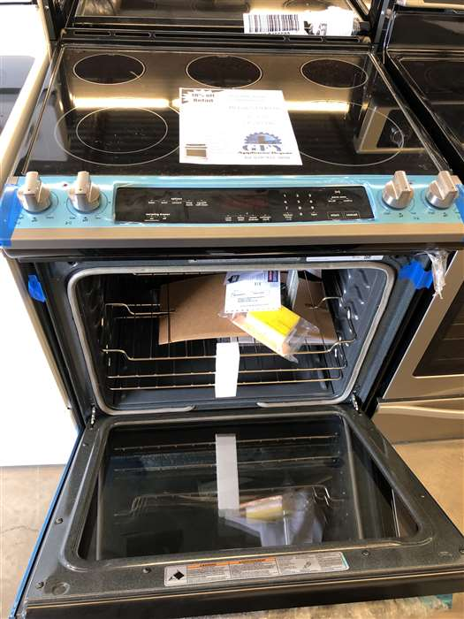 Slide-In Electric Range