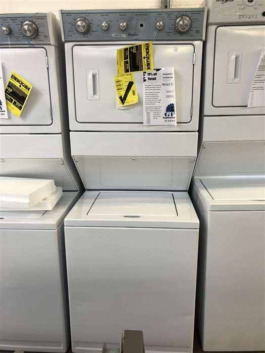 Stacked Laundry Unit