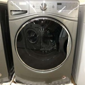Stackable Front Load Washer Chrome Shadow