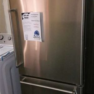 STAINLESS BOTTOM FREEZER FRIDGE