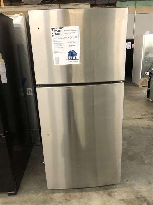 Top Freezer Refrigerator in SS