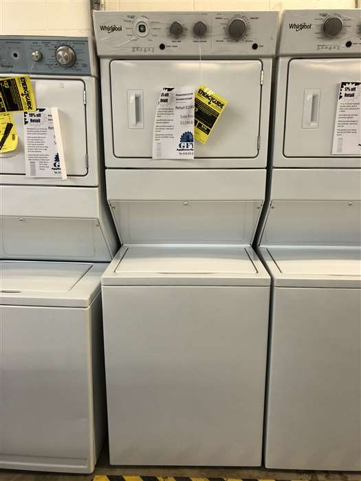 Whirlpool Stacked Laundry Unit Gfy Appliance Repair