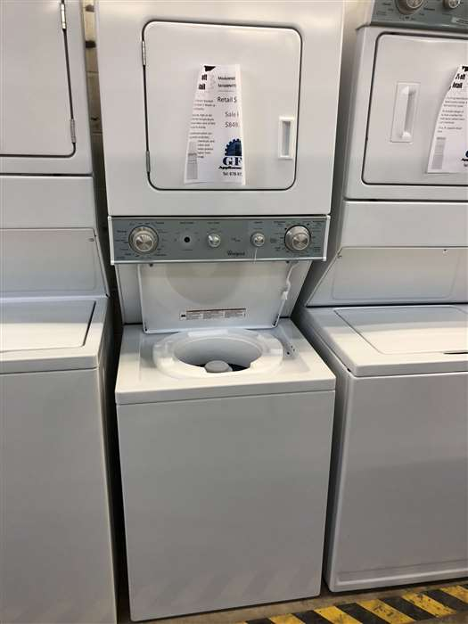 Stacked Laundry Unit
