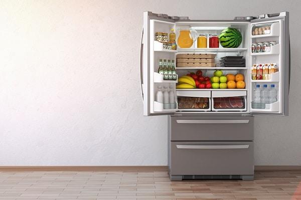 refrigerator freezer warm