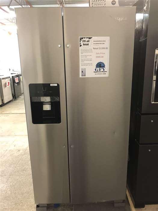 whirlpool finger print resistant refrigerator
