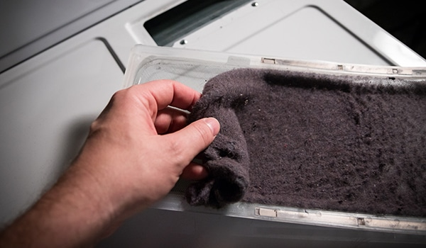 clean a maytag dryer vent