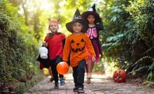 best neighborhoods for trick or treating in athens