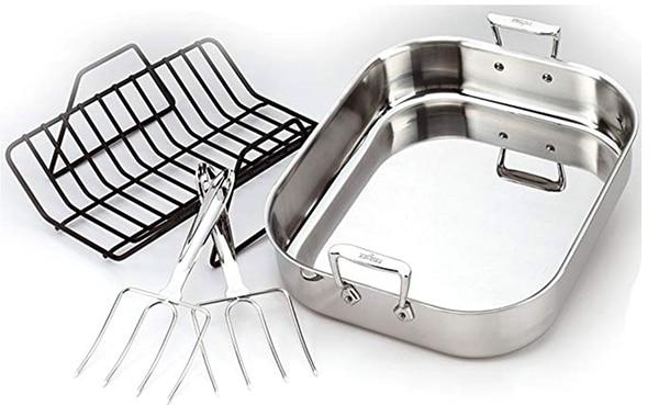 best stainless steel roasting pan