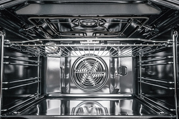 how to clean inside an oven